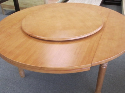 wood turn table