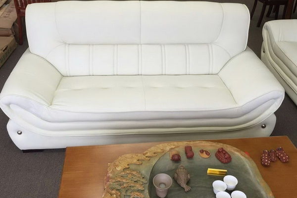 Sofa and loverseat set 001#