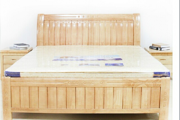Hard wood bed 913#