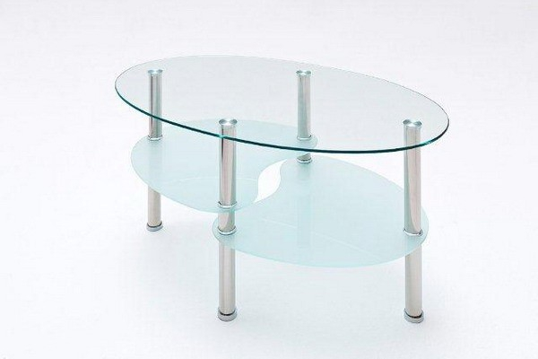 glass coffee table CT609#
