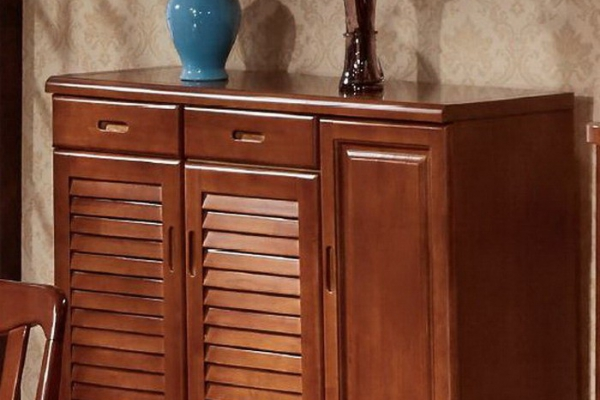 solid wood shoe cabinet 502#