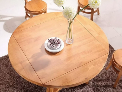 foldable round dining table T266#