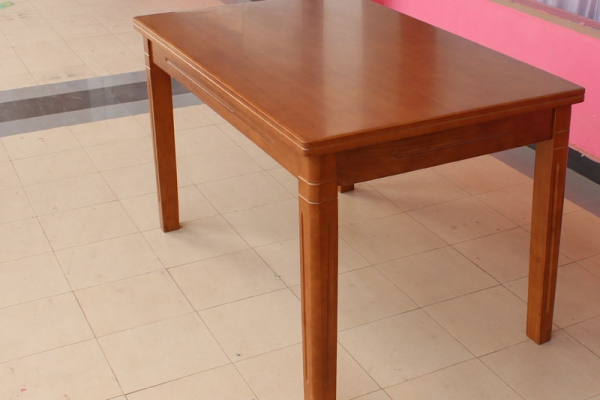 906# rectangle dining table