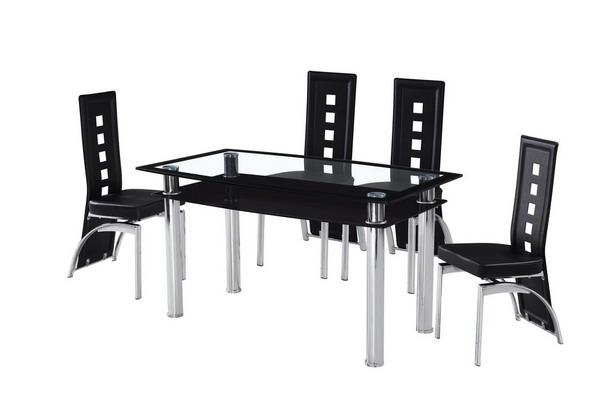 钢化玻璃餐桌 02#