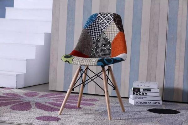 fabric easy chair
