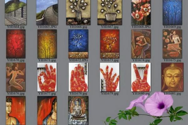 decorative picture order list 08#