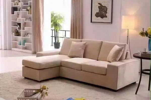 布艺、皮革组合沙发IS055#
