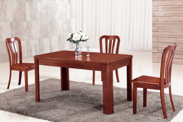 Solid wood dining table T212#
