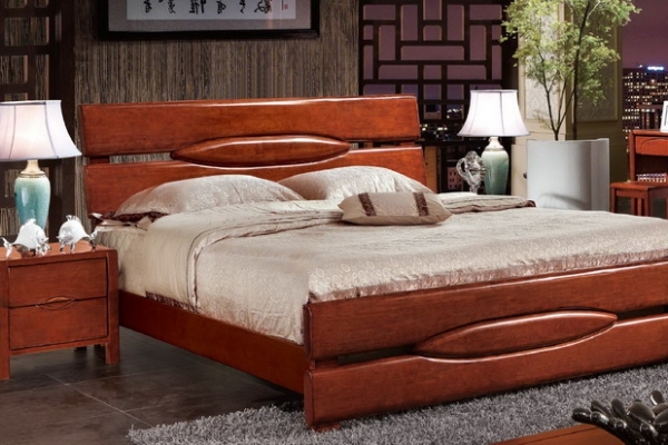 实木床bed_M6311#